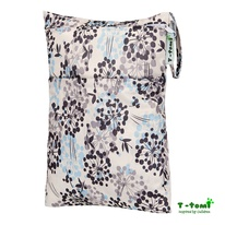 Wet-Bag T-Tomi Grey Flowers immagine-1