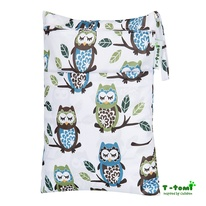 Wet-Bag T-Tomi White Owl immagine-1