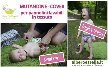 pannolini lavabili, cover sweet pea