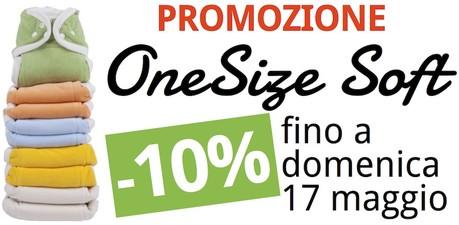 promozione pannolini lavabili OneSize Soft