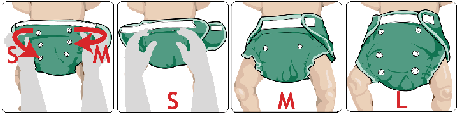 pannolini lavabili fitted resize