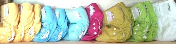 pannolini lavabili - colori pocket Mammafò