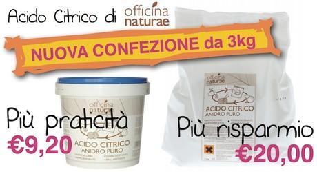 acido citrico nuova confezione 3kg