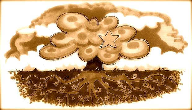 albero e stella - radici