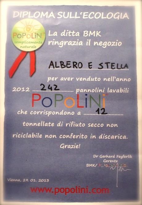 pannolini lavabili - diploma Popolini
