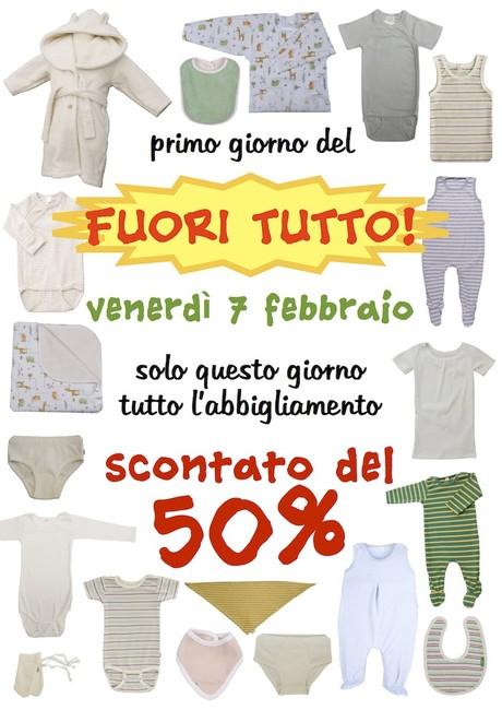 abbigliamento biologico bimbo - sconto 50%