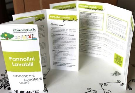 pannolini lavabili - brochure informativa