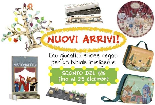 Regali di Natale-giocattoli ecologici-novità-promozione