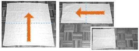 muslin piegatura origami 1