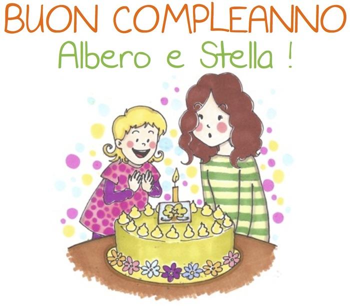 Buon compleanno Albero e Stella
