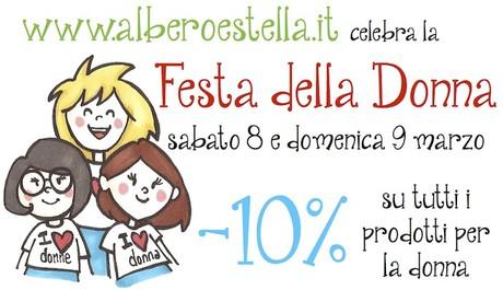 www.alberoestella.it - pannolini lavabili - festa della donna