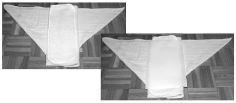 muslin piegatura origami 5
