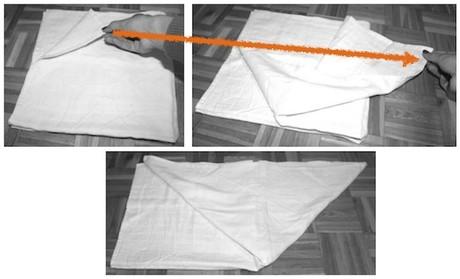 muslin piegatura origami 2