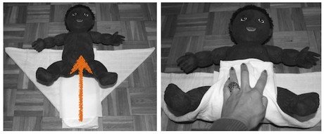 muslin piegatura origami 6