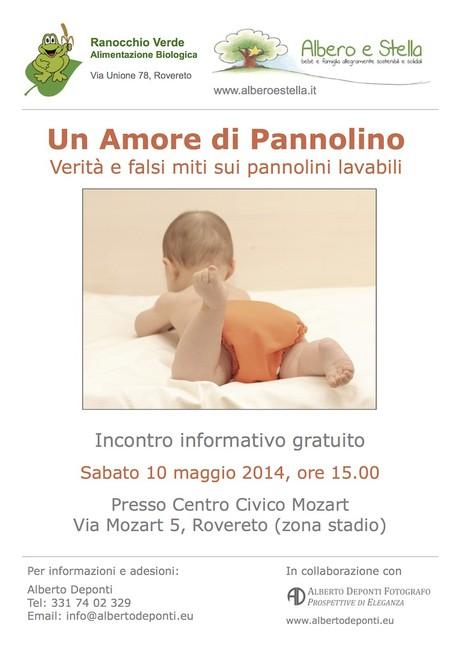 pannolini lavabili - evento informativo Rovereto